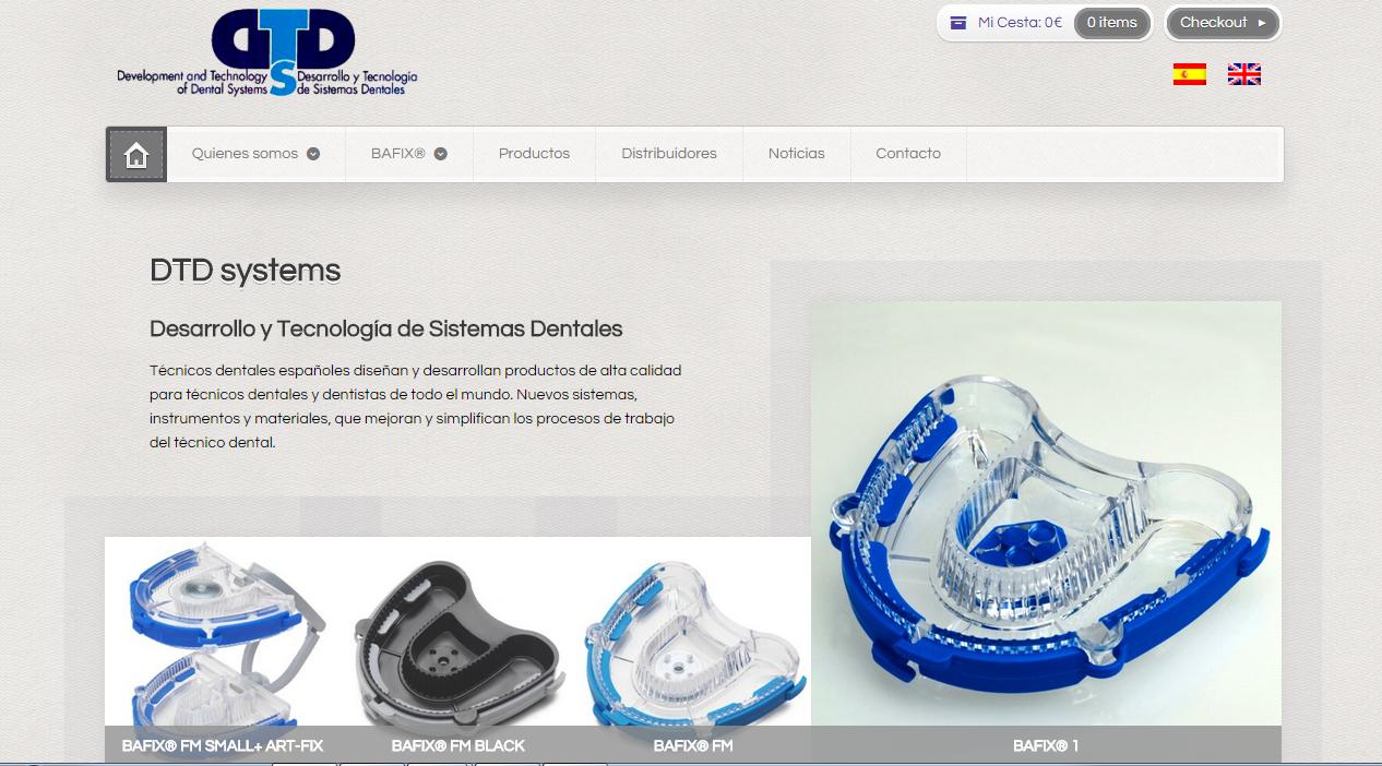 Captura de Página Web de Cliente Dtd Systems