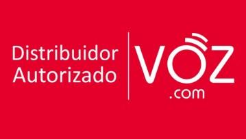 Sello Oficial Distribuidor Autorizado de VOZ.COM