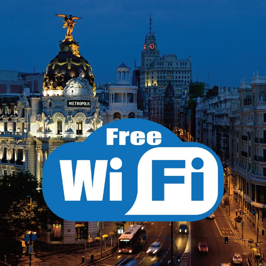 Wifi gratis en Madrid