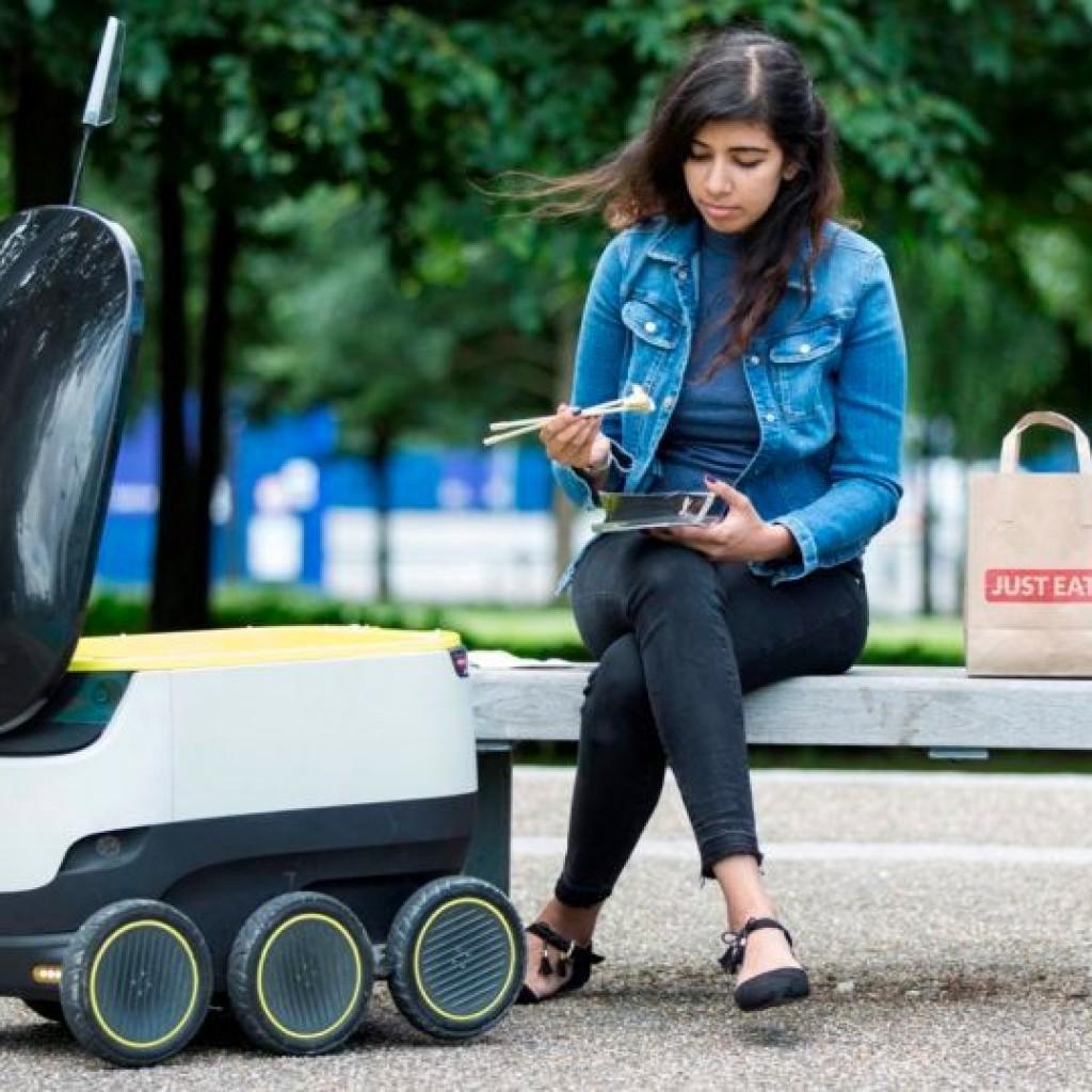 Robots repartidores